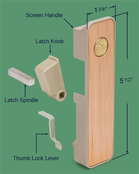 Pella Screen Door Latch by 83 122 Pella Interior Screen Door Handle Ox Swisco
