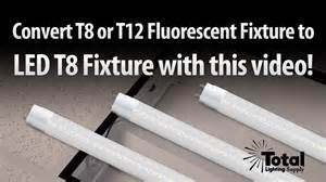 convert fluorescent light fixture to incandescent how to change your t12 or t8 fluorescent fixture to