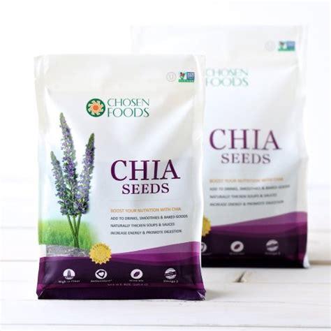 Chia Seeds Chosen Foods chosen foods chia seeds 16 ounce