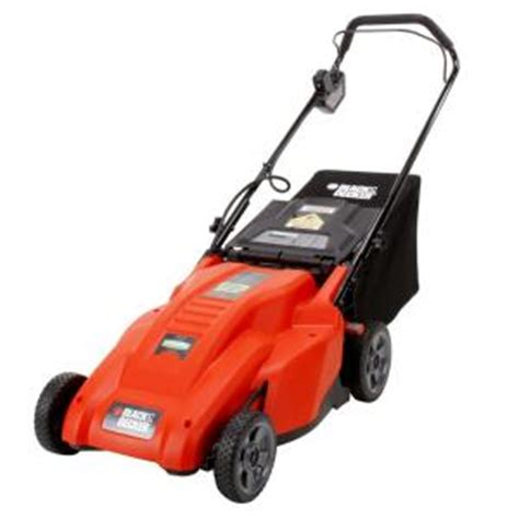black decker 18 in 36 volt lawn mower cordless electric