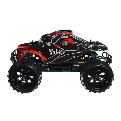 hsp nitro monster truck hsp 94862 08327 black rc monster truck at hobby warehouse