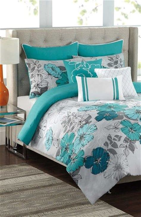 grey and teal bedding sets 25 best ideas about teal bedding on pinterest