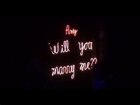will you me signs in lights marriage flash mob jason derulo me at