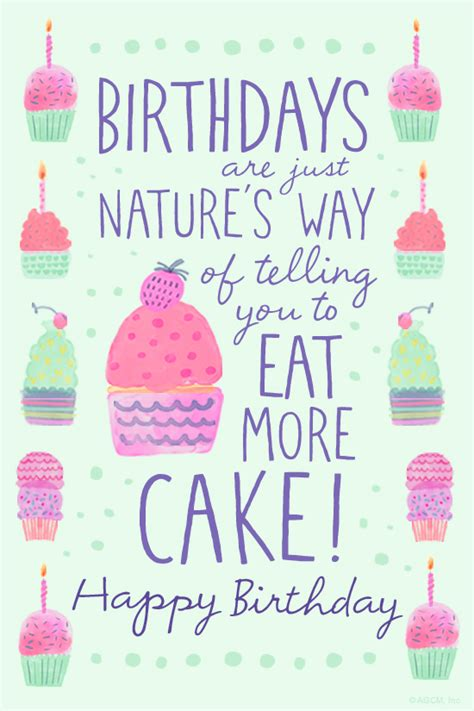 cartoon birthday ecards blue mountain quot eat more cake quote quot birthday ecard blue mountain ecards