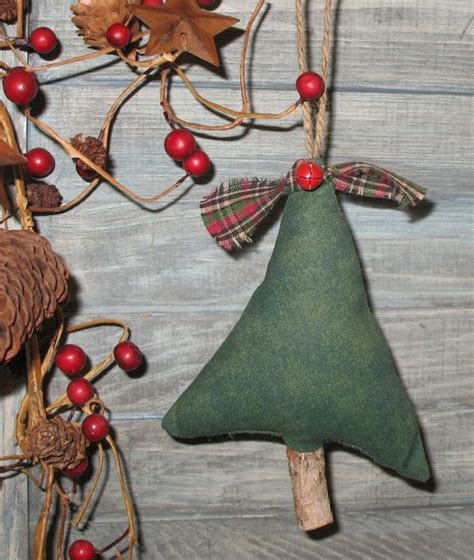 primitive christmas tree ornament primitive christmas