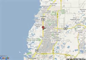 port florida map travelodge port richey port richey deals see hotel