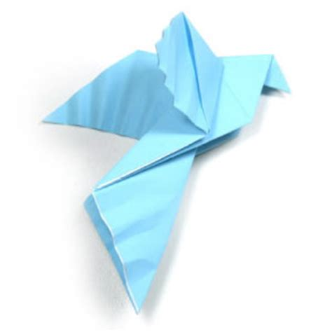 Origami Dove - 40 tutorials on how to origami a zoo