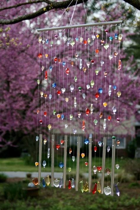 diy beaded wind chimes easy diy wind chimes ideas for homes and gardens