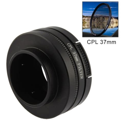 3 In 1 Cpl 37mm Filter Lens Cover Xiaomi Yi cpl 37mm filter circular polarizer lens filter with cap