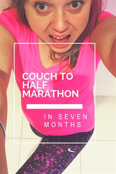 couch to marathon in 4 months couch to half marathon in seven months pink pear bear