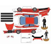 How To Make A Diecast Cardboard Car  Mitsubishi Lancer