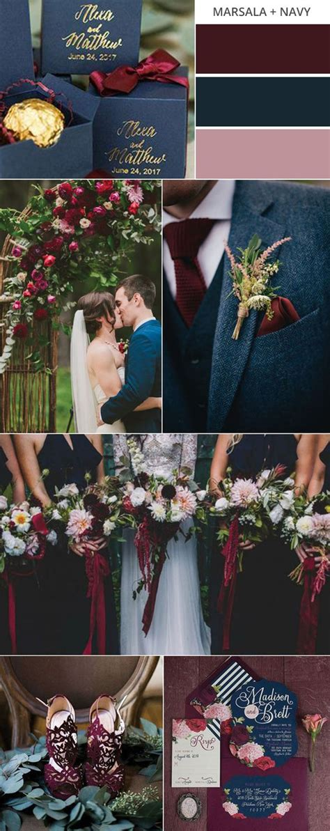 top 10 gorgeous fall wedding color palettes to emmalovesweddings
