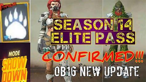 fire season  elite pass confirmed ob