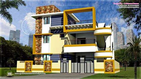 Single Floor House Plans In Tamilnadu Modern 3 Floor Tamilnadu House Design Kerala Home Design And Floor Plans