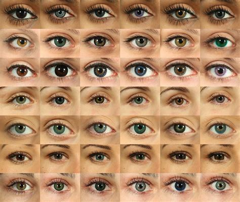 all possible eye colors imagine if this was wallpaper set up in perhaps in your