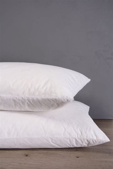 How Big Is A Size Pillow by Feather And Standard Pillow Duvet Inners Pillows