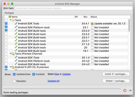 android sdk unity android sdk unity 28 images install android sdk manager revision 20 from ppa on 我的程式開發筆記