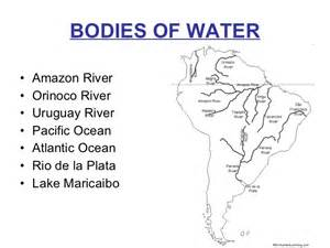 south america river map south america intro ppt