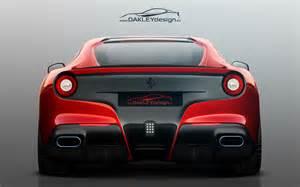F12 Back Oakley Design F12 Berlinetta Rear Photo 3