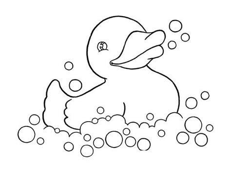ducky coloring sheets coloring pages