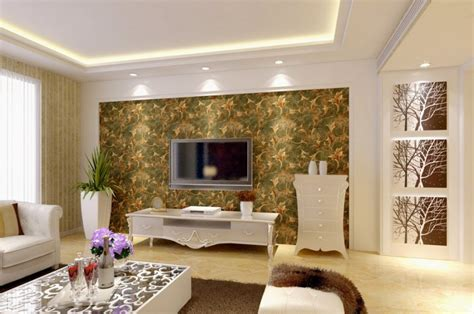 Wallpaper Living Room by Modern Living Room Wallpaper Modern House