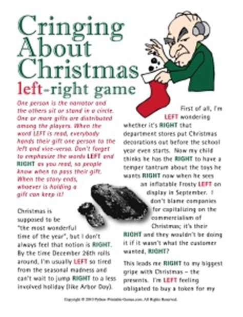 right left christmas party story sayings and thoughts provocative and sarcastic