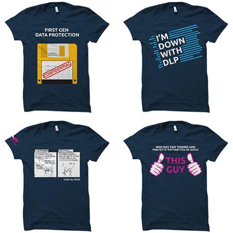 Best Conference Giveaways - vote on digital guardian s 2016 rsa conference t shirt giveaway digital guardian