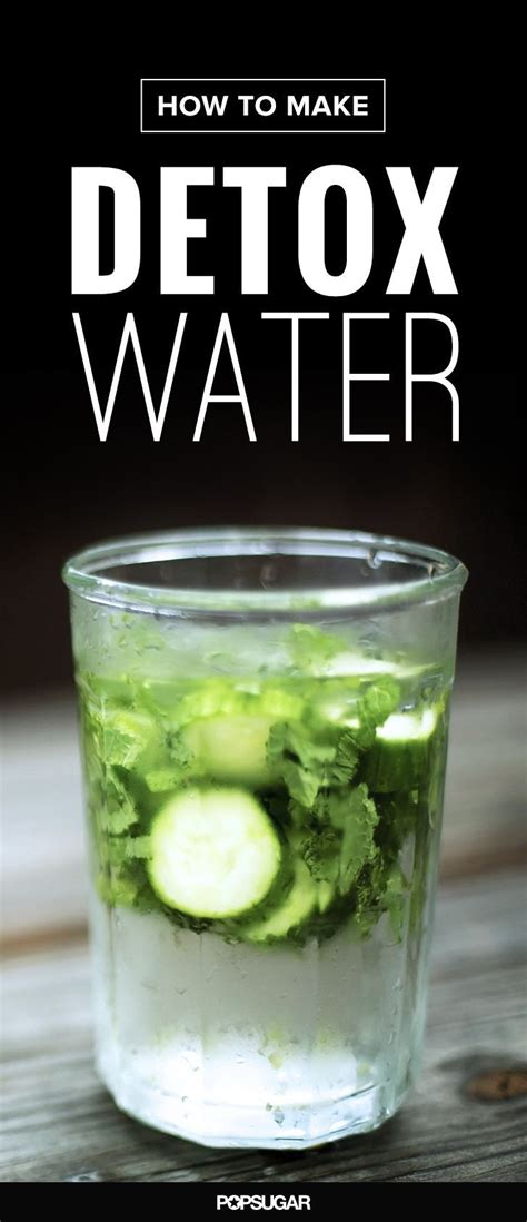 Detox Water Make You Lose Weight by 4 Detox Ingredients You Need To Add To Your H2o Detox