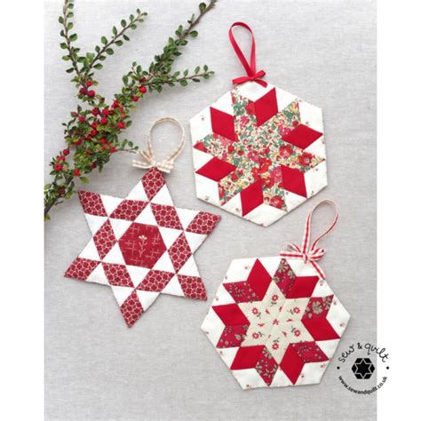 paper christmas ornaments patterns patterns kits sew quilt