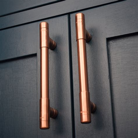 copper kitchen cabinet hardware modern copper t pull handle drawer pull cabinet