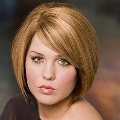 short hairstyles for the fuller face short hairstyles for round fat faces over 50 hairstyles