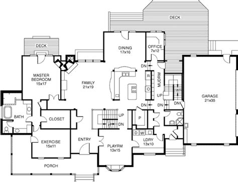 house plans with safe rooms bungalow country farmhouse house plan 32327 house plans