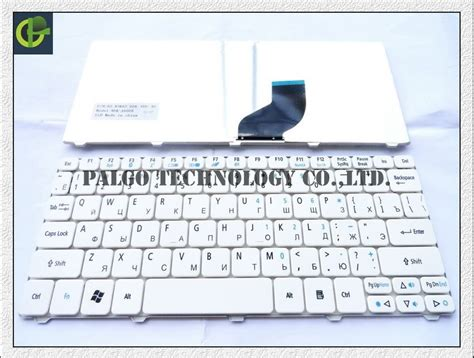Keyboard Acer Aspire One Happy russian keyboard for acer aspire one happy 2 ze 7 e100 aoe100 p0ve6 pove6 ze6 ze7 n55c white ru