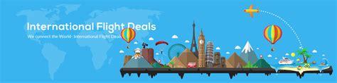 discount international airline tickets flight deals bookotrip