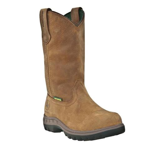 deere womens leather 10in waterproof steel toe