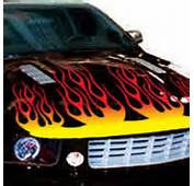 Flame Stickers For Cars Re De