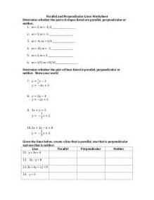 6 6 parallel and perpendicular lines worksheet