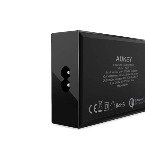 Aukey Charger Usb 4 Port 1 Port Type C 54w Qc3 0 Aipo Limited aukey charger usb 4 port 1 port type c 54w qc3 0 aipower pa y5 black jakartanotebook