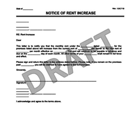Reasons For Rent Increase Letter renewal letter for apartment pertamini co