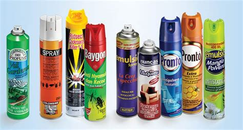 what are household products aerosol