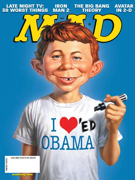 mad magazine obama cover dc reviews mad 503 comicattack
