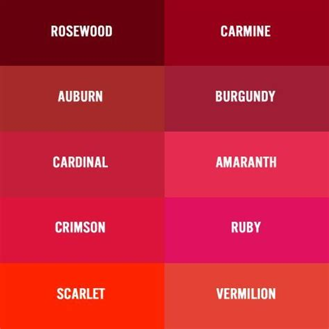 garnet colors burgundy vs garnet color chart burgundy wine