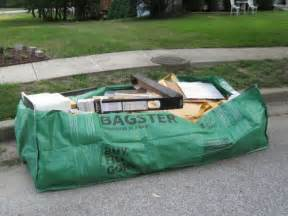 bagster home depot bagster review waste management s alternative to dumpster
