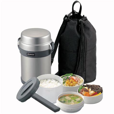 Zojirushi Mr. Bento Stainless Microwavable Lunch Jar Set