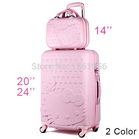 Luggage Bag Covers Hello 20 Inch 20 24 inch hello suitcase set travel bag set spinner rolling luggage hardside luggage abs