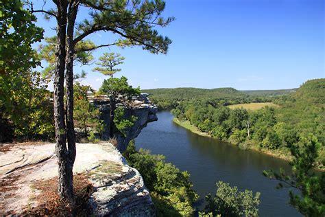 Landscape Rock Ozark Mo Ozark Landscapes White River In Northern Arkansas