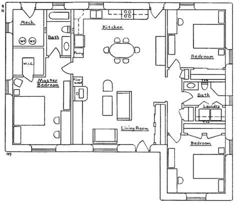 3 way bathroom floor plans beachcomber house plan