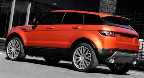 orange range rover evoque the 2013 range rover is just dead curious