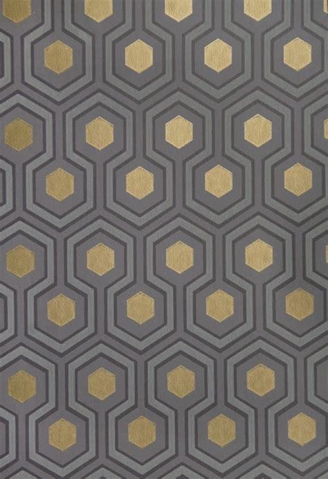 wallpaper gold geometric hicks hexagon wallpaper small geometric design design