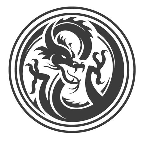 tattoo dragon logo myspace dragon avatar posts and logos